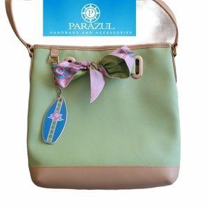 Parazul Classic Carribean scarf handbag